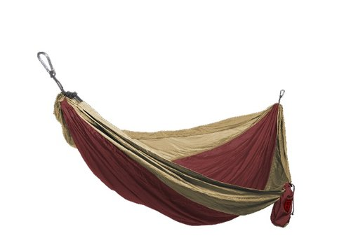 Grand Trunk Grand Trunk Double Hammock Crimson/Khaki