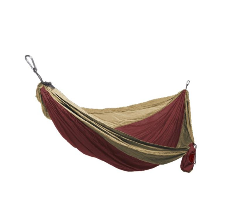 Grand Trunk Double Hammock Crimson/Khaki
