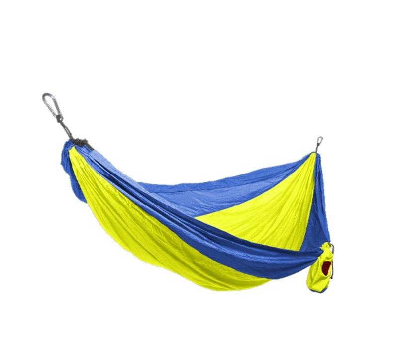 Grand Trunk Double Hammock Royal Blue/Neon