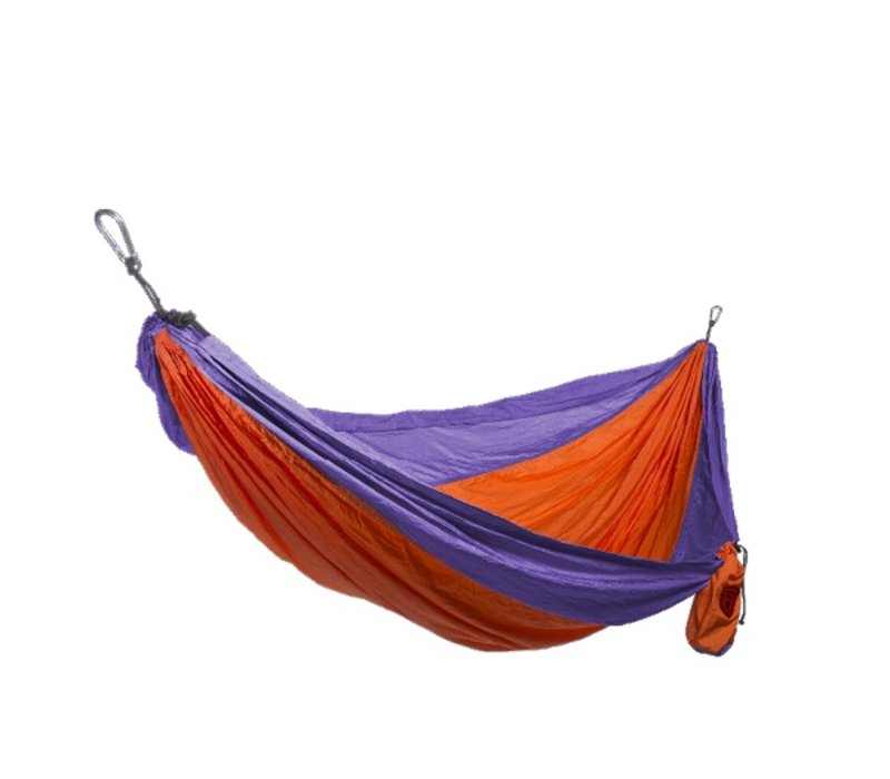 Grand Trunk Double Hammock Orange/Purple
