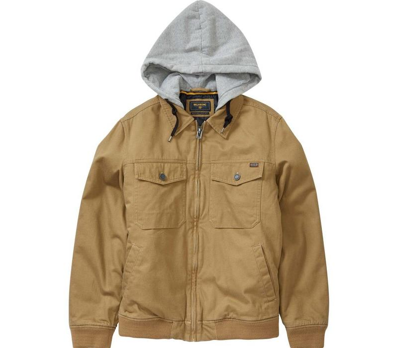 Billabong Barlow Twill Jacket Gum