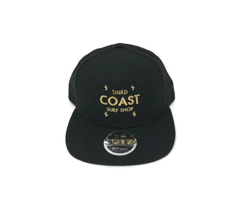Third Coast Bolts New Era Snapback Black