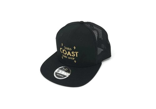 Third Coast Third Coast Bolts New Era Trucker Black