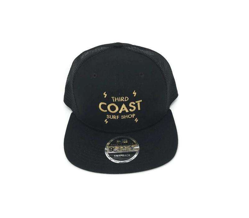 Third Coast Bolts New Era Trucker Black