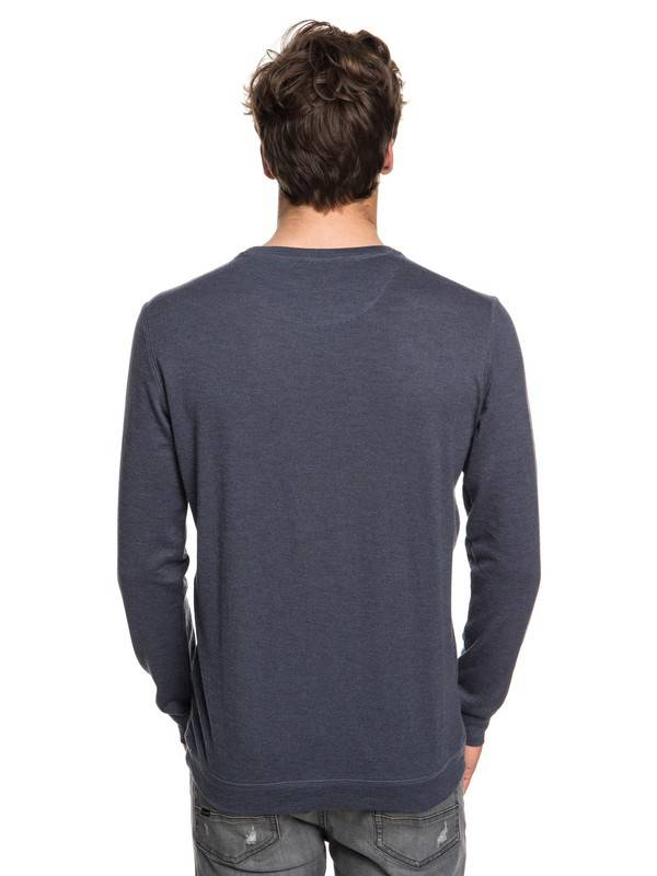 Indigo Lindow Vintage Crew Quiksilver Sweater qaZ18qw