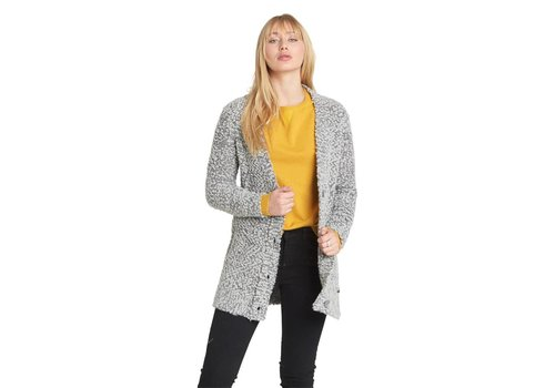 Element Element In The Air Cadigan Grey Heather