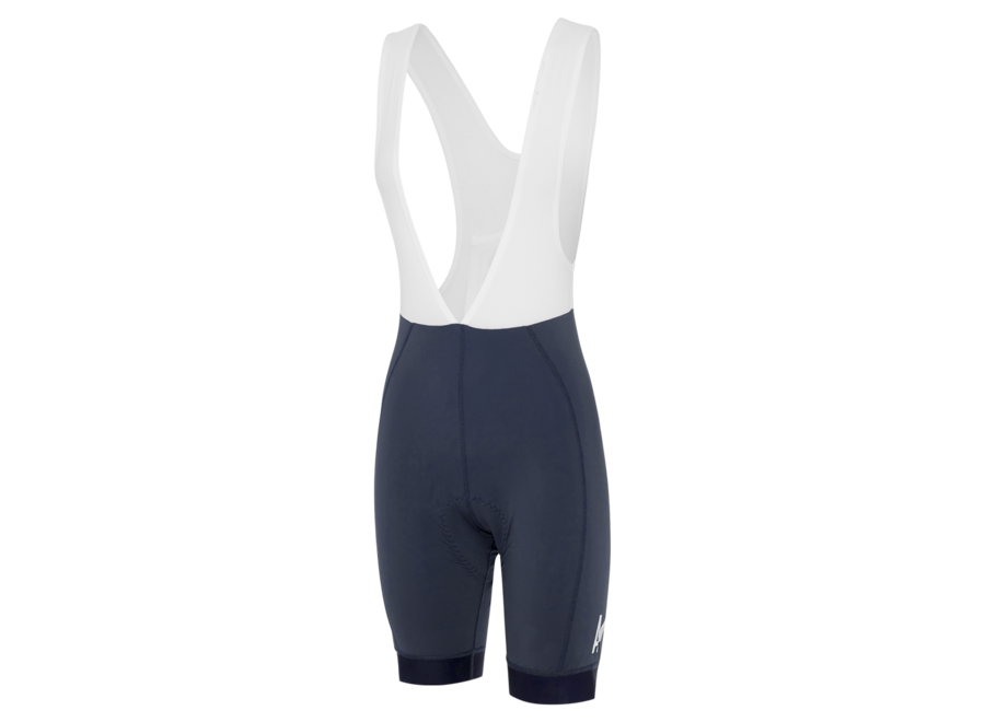 Womens A Line Bib Shorts Navy