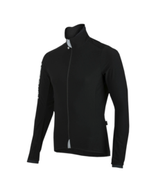 Race Jacket Black Reflective Logo