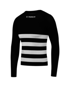 Attaquer Undershirt Long Sleeve Winter Black