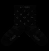 Socks Race Ultra Pattern Black