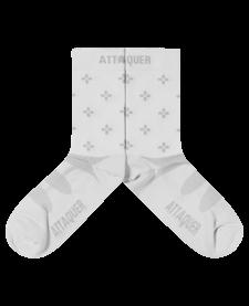 Socks Race Ultra Pattern White