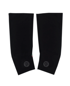 Knee Warmers Black Reflective