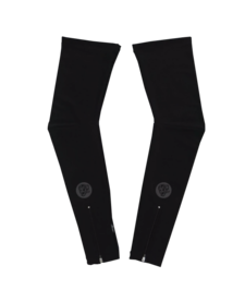Leg Warmers Black Reflective