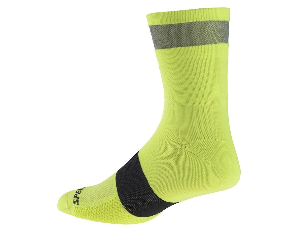 Specialized Reflect Tall Sock Neon Yellow