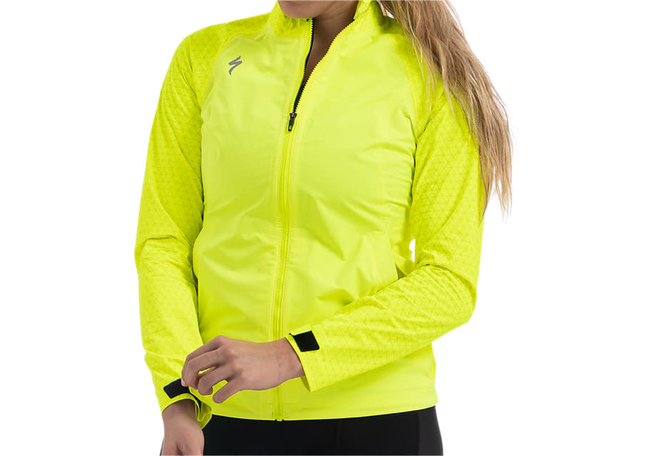 Specialized Deflect Reflect H2O Jacket Wmn Neon Yel