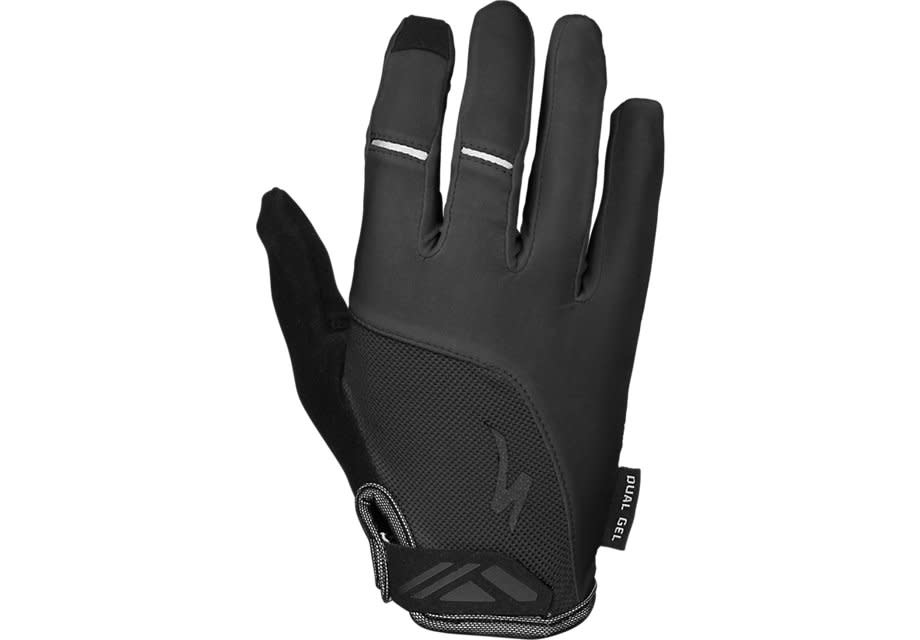 Specialized Women's Dual Gel Long Finger Glove Black