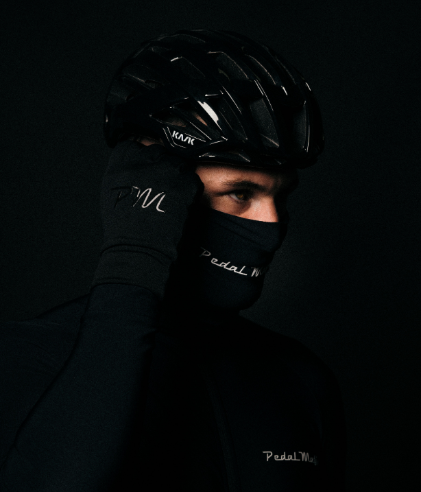 Pedal Mafia Neck Warmer - Black