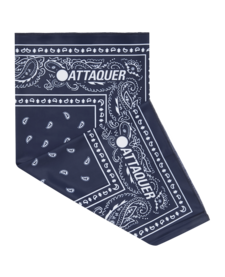 Neck Warmer Navy Paisley OSFM