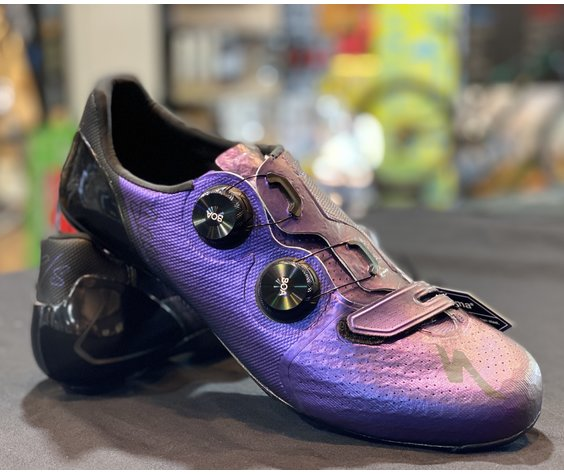 Specialized S-WORKS 7 ROAD SHOES – SAGAN COLLECTION DECON RED