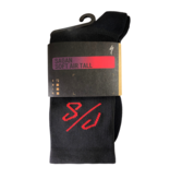 Specialized SOFT AIR TALL SOCK - SAGAN COLLECTION DECON RED/BLACK