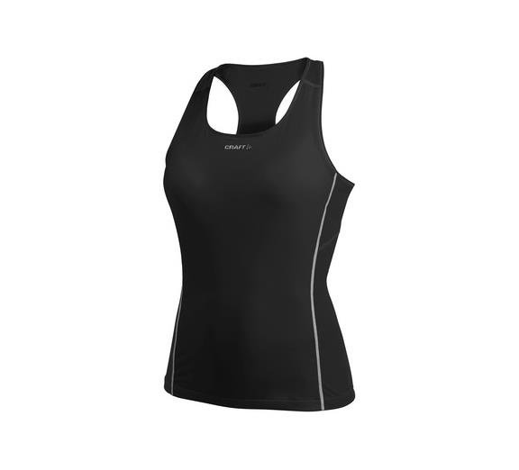 Craft Base Layer S-Cool Wms S/L Blk M