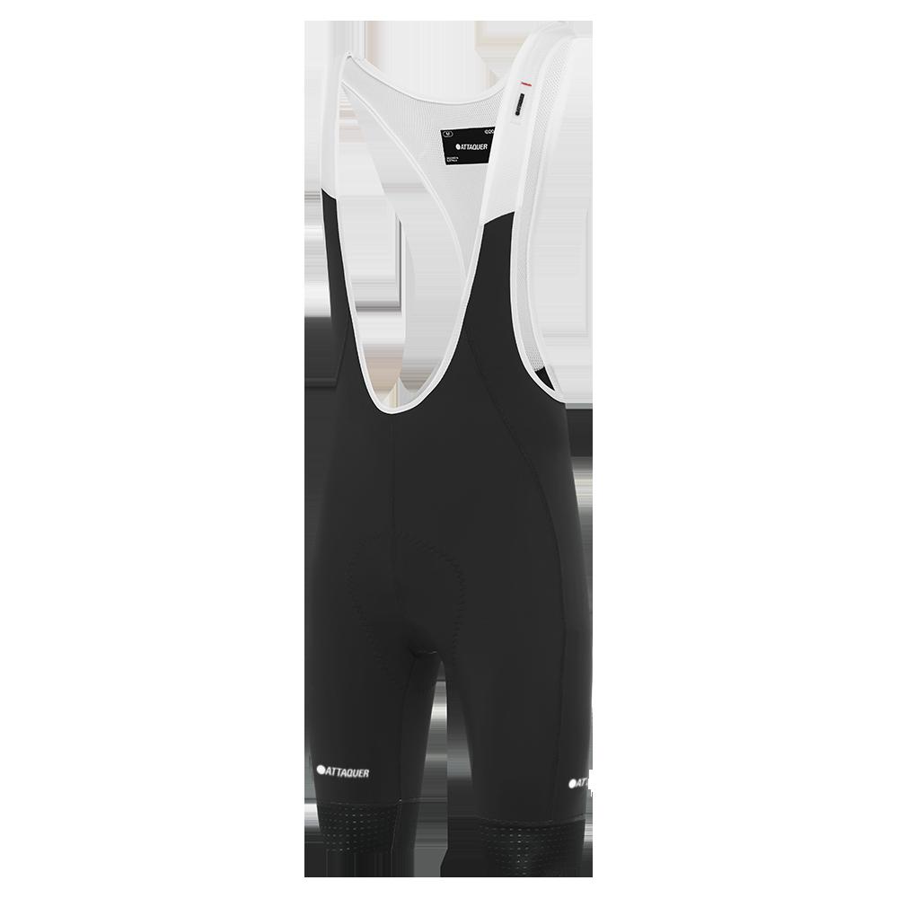 Attaquer A-Line Bib Shorts Black