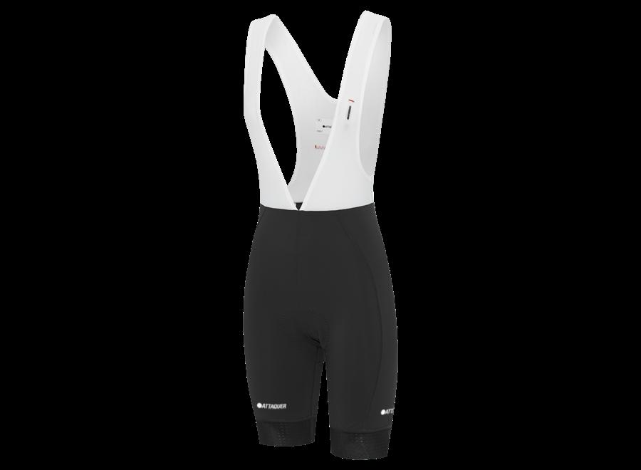 Womens A-Line Bib Shorts  Black
