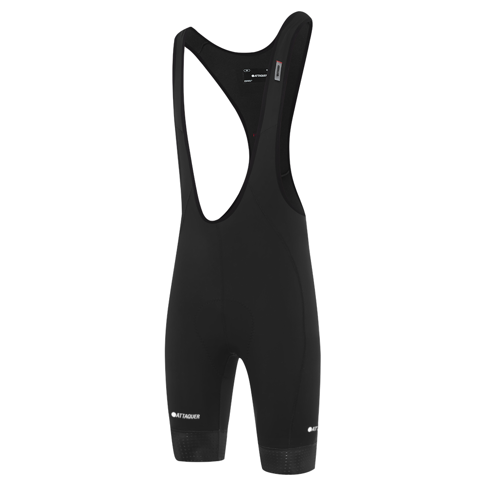 Attaquer A-Line Winter Bib Shorts  Black