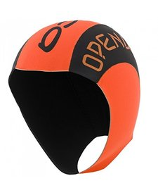 Winter Neoprene Swim Cap Small/Medium Orange