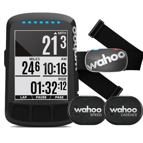 Wahoo Element Bolt GPS Stealth Black Bundle