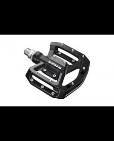 Mtb Pedals Shimano Flat Black Pd-Gr500