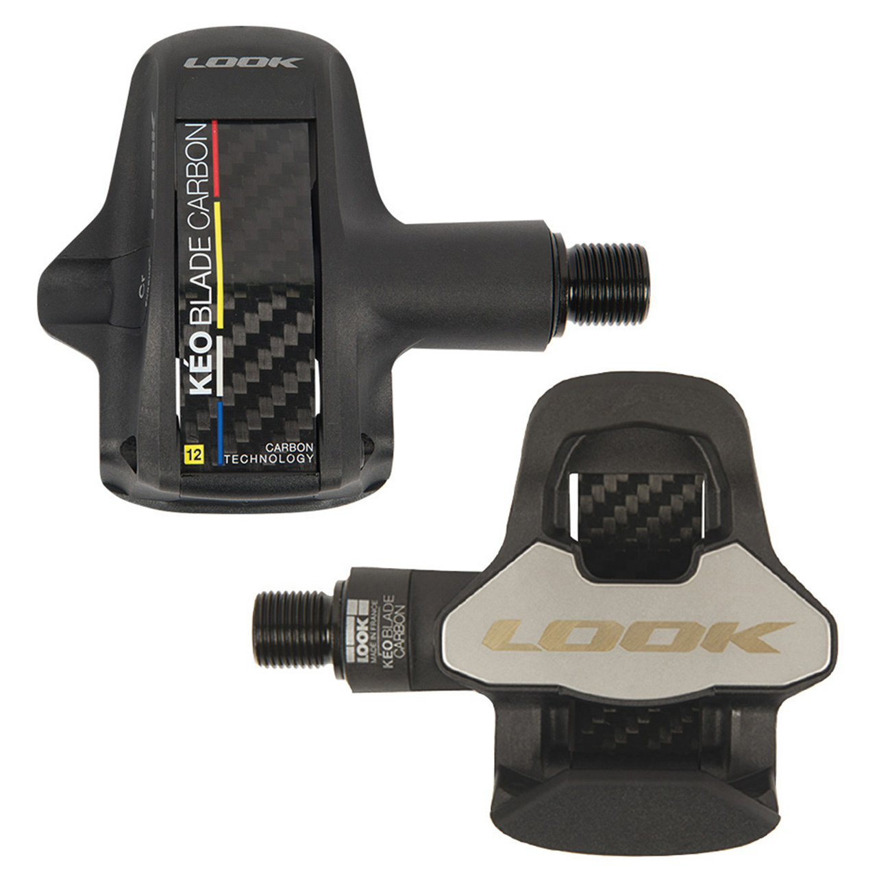 20 PEDAL LOOK CHROMOLY+ BLADE CARBON 8NM AND 12NM