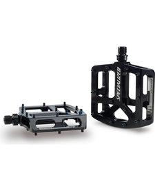 Bennies Platform Pedals Black Anodised