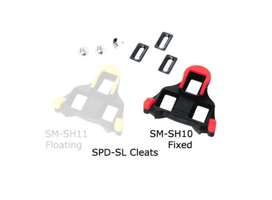 Cleat Shimano SPD SL Red Fixed