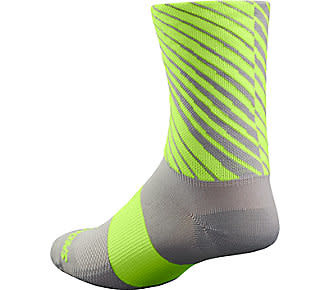 Specialized Rbx Tall Sock Ltgry/Neon Yel S/M