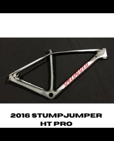 STUMPJUMPER HT PRO WC 29 FRAME - LARGE - CHAR/WHT/FLORED