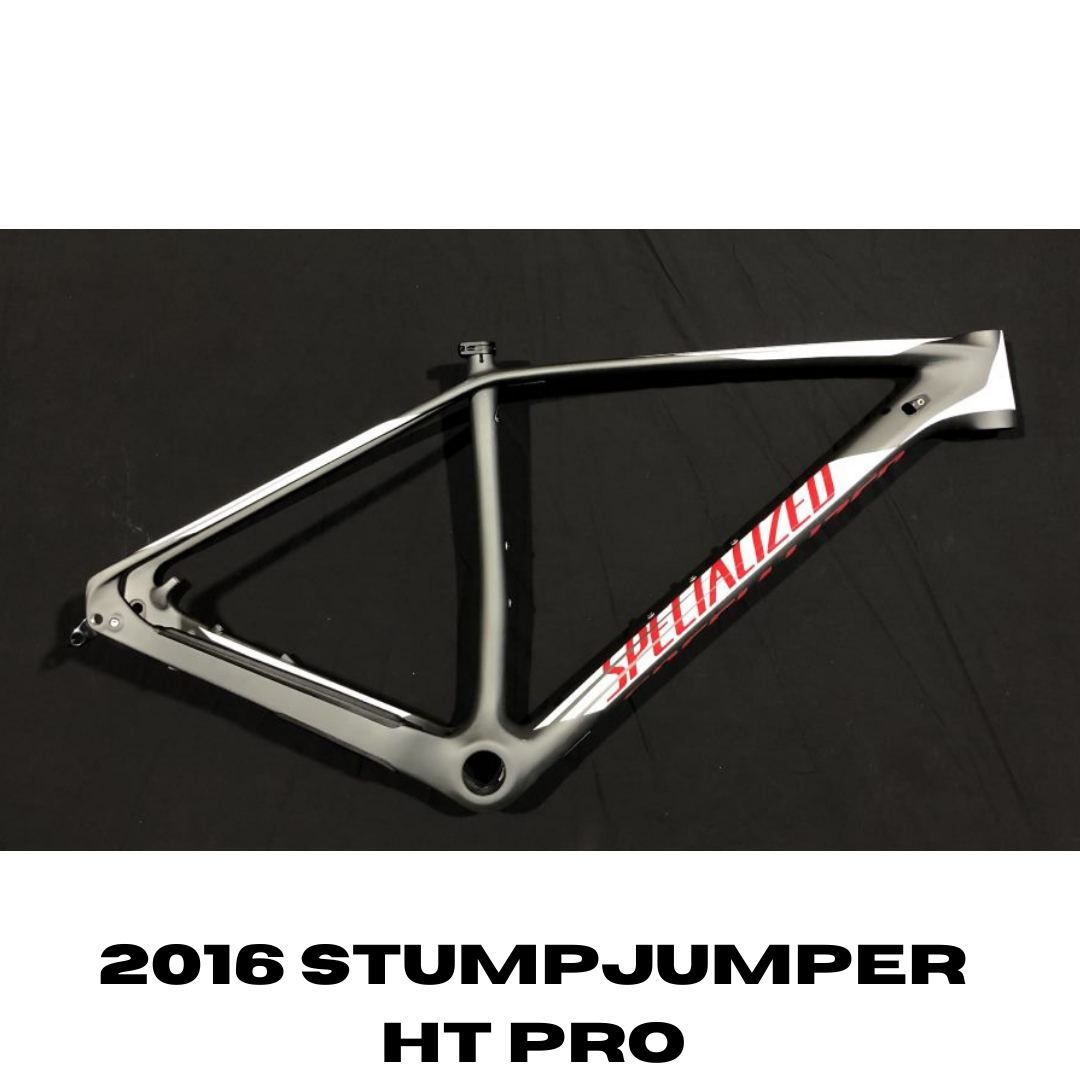 Specialized STUMPJUMPER HT PRO WC 29 FRAME - LARGE - CHAR/WHT/FLORED