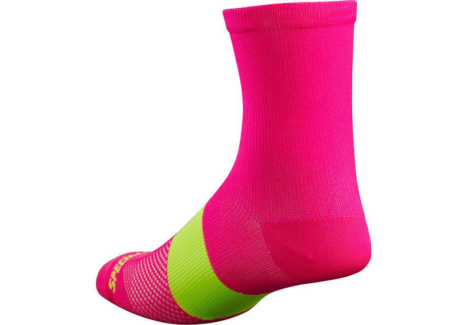 Specialized Sl Tall Sock Neon Pnk L/Xl