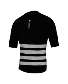 Undershirt Winter Weight SS Black