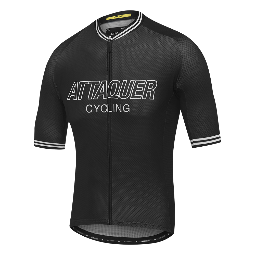 Attaquer All Day Outliner Jersey Black