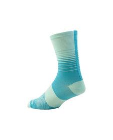 Sl Tall Sock Wmn Turquoise Fade M/L