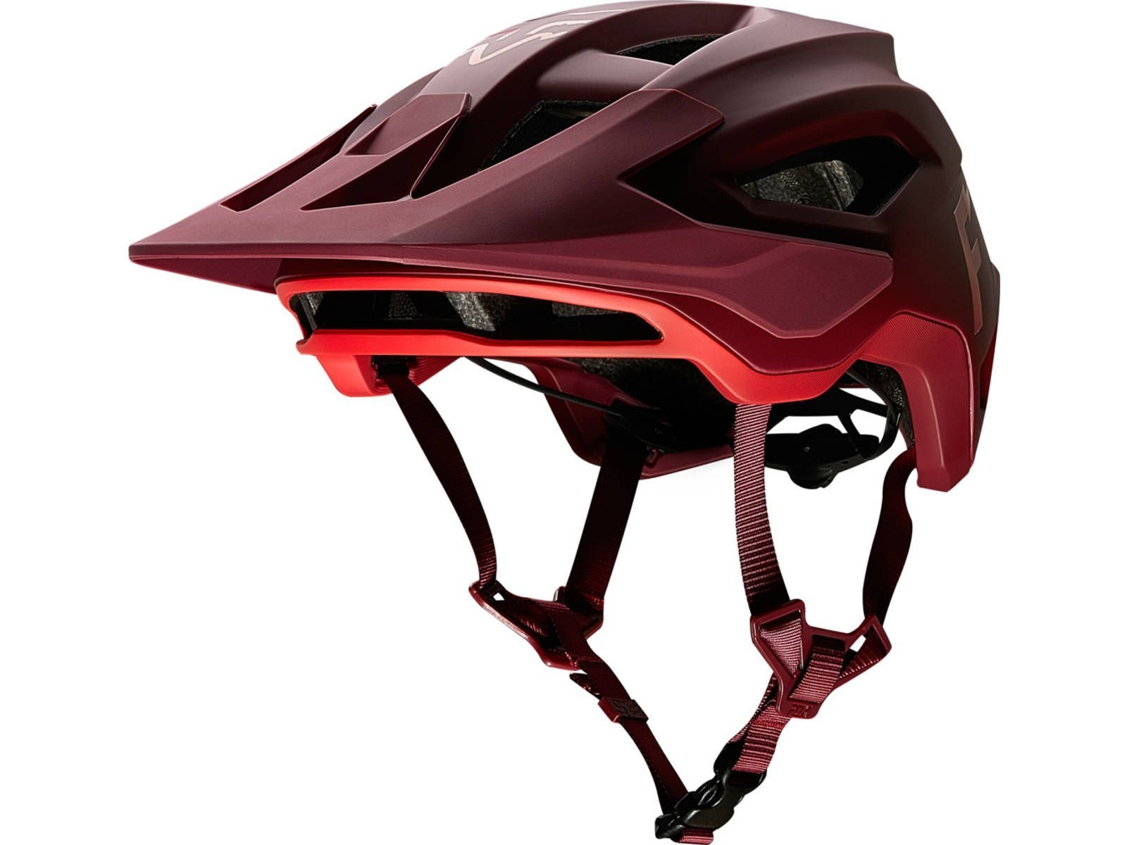 Fox Racing SPEEDFRAME HELMET WURD Chilli Large