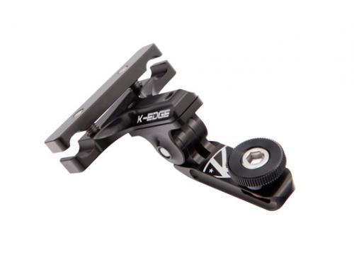 GO BIG Pro Saddle Rail Mount Bundle (w/ Universal Adapter) - Black