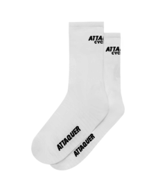 Socks Club Logo White