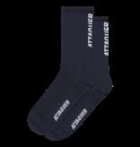 Attaquer Socks Vertical Logo Navy