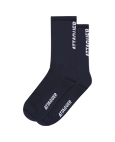 Socks Vertical Logo Navy