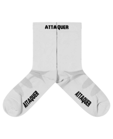 Socks Race ULTRA+ Logo White