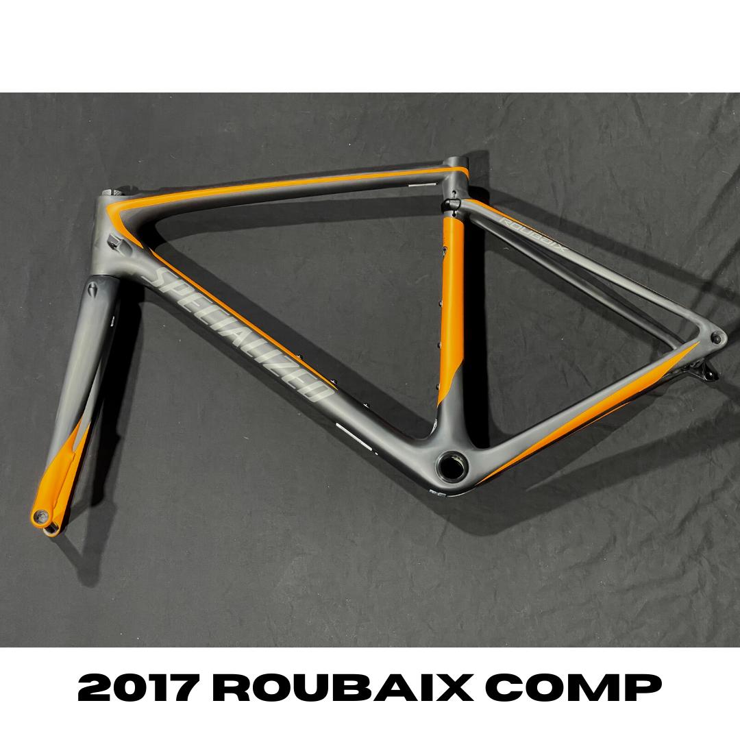 Specialized 2017 Roubaix Comp Carb/Gldorg/Char Frame