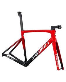2021 S-Works Tarmac SL7 Frameset Flo Red/Tarmac Black/White