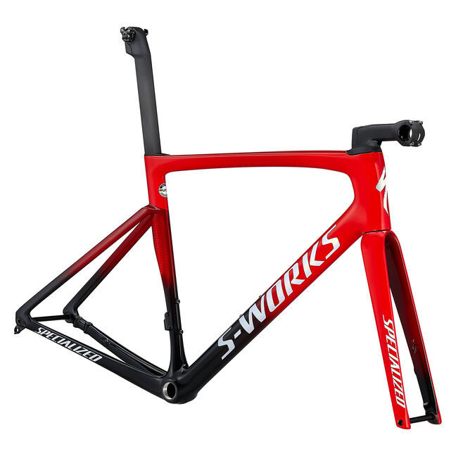 Specialized 2021 S-Works Tarmac SL7 Frameset Flo Red/Tarmac Black/White